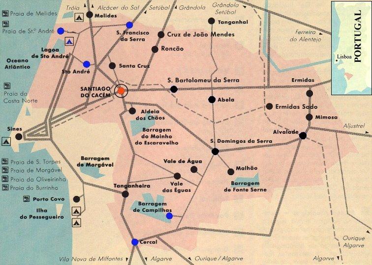 Santiago Do Cacem Cidade
